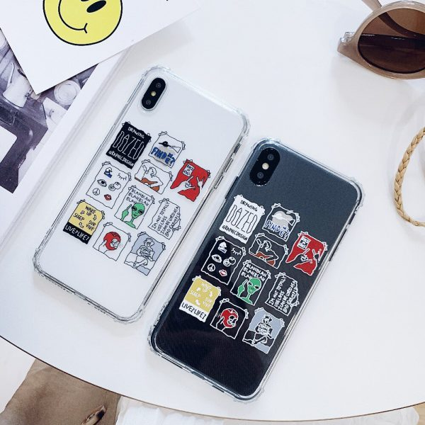 Abstract Design iPhone X Case - FinishifyStore