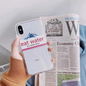 Funny Stickers Label iPhone Case - FinishifyStore