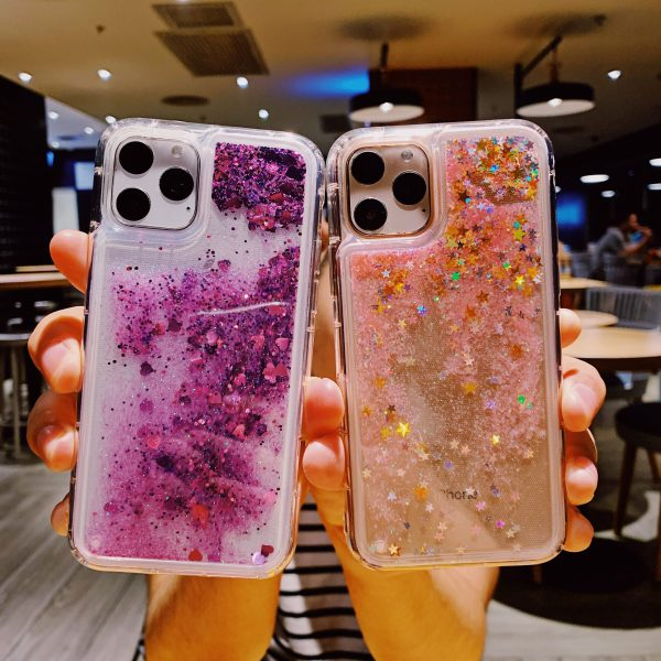 Glitter Love Heart iPhone 11 Pro Max Case - FinishifyStore