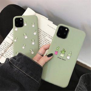 Green Cactus iPhone Case - FinishifyStore