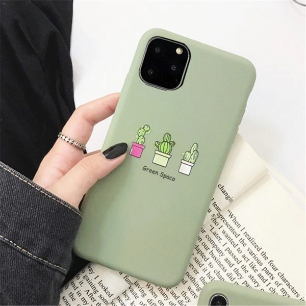 Green Cactus iPhone 11 Pro Max Case - FinishifyStore