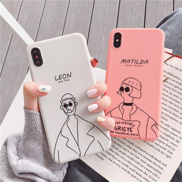 Leon Matilda iPhone Case - FinishifyStore