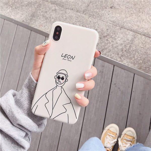 Leon Matilda iPhone X Case - FinishifyStore