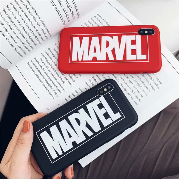 Marvel Logo Design iPhone Case - FinishifyStore