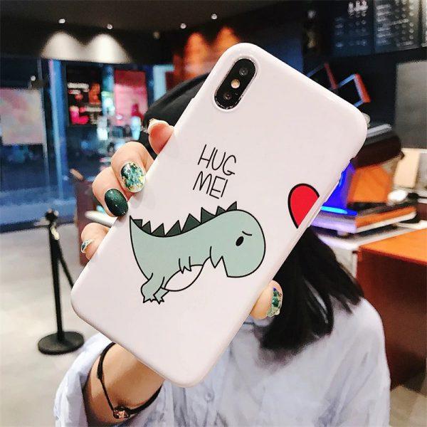 Couple Dinosaur iPhone Case - FinishifyStore