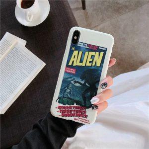 Alien Design iPhone Case - FinishifyStore