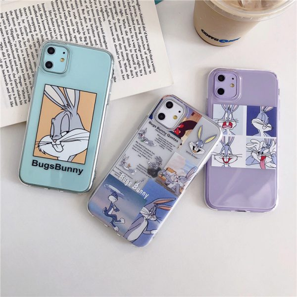 Bugs Bunny Clear Phone Case for iPhone