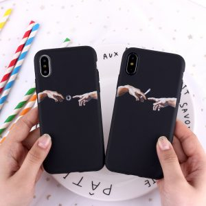 Creation Adam iPhone Case - FinishifyStore