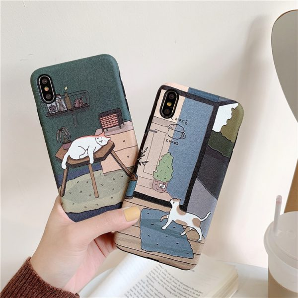 Japanese Cats iPhone X Case - FinishifyStore