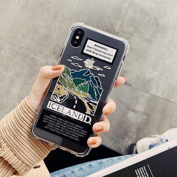 Lovely Scenery Design iPhone XS Case - FinishifyStore