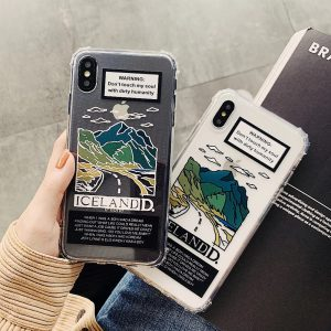 Lovely Scenery Design iPhone X Case - FinishifyStore