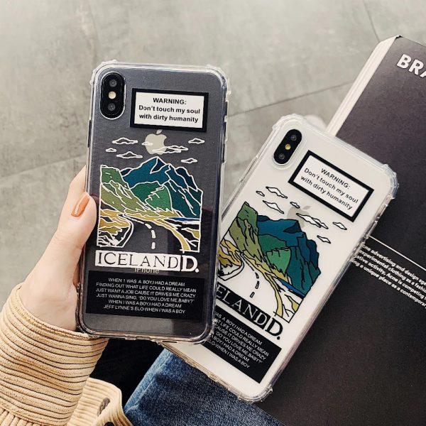 Lovely Scenery Design iPhone X Case - FinishifyStore