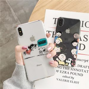 Lucy Van Pelt Clear iPhone X Case - FinishifyStore