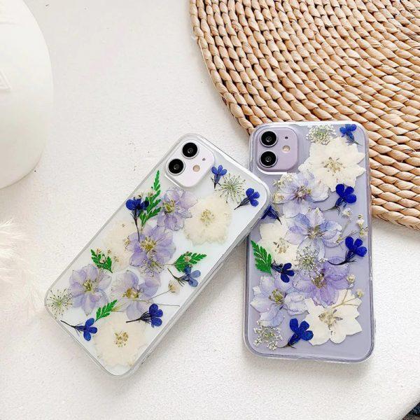 Purple Flowers iPhone 11 Case - FinishifyStore