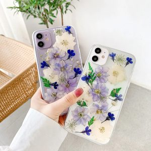 Purple Flowers iPhone Case - FinishifyStore