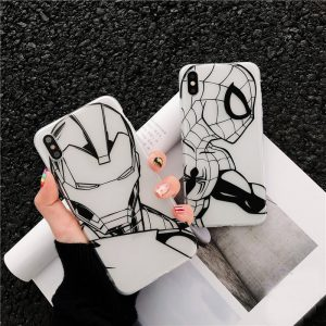 SpiderMan IronMan iPhone Case - FinishifyStore