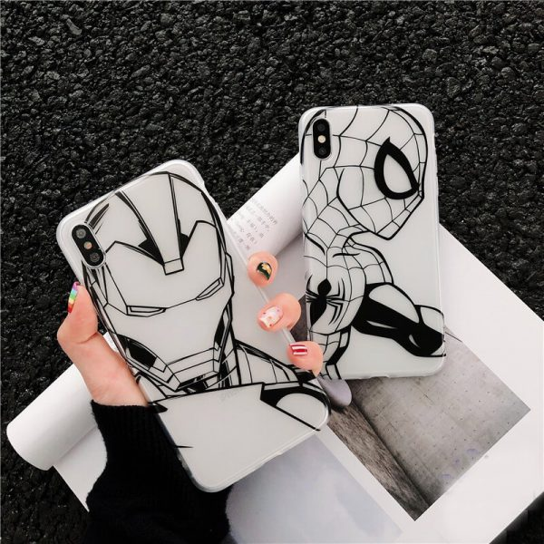 SpiderMan IronMan iPhone Case - FinishifyStore