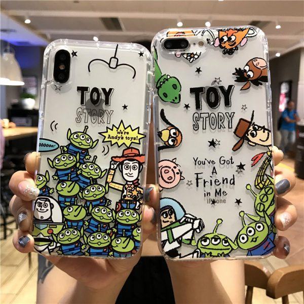 Toy Story Clear iPhone Case - FinishifyStore