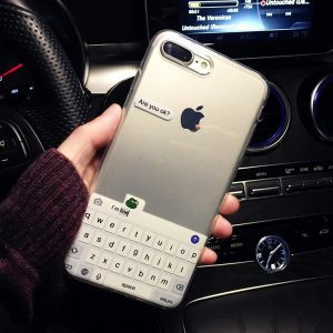 Typing Chat iPhone 7 Plus Case - FinishifyStore