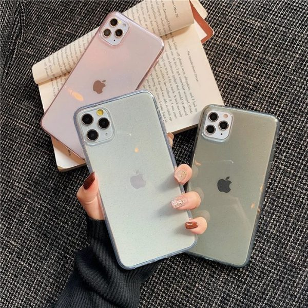 Clear Glitter iPhone 11 Cases - Finishifystore