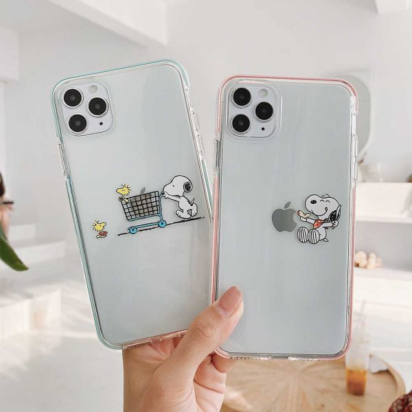 Snoopy Peanuts iPhone 12 Case
