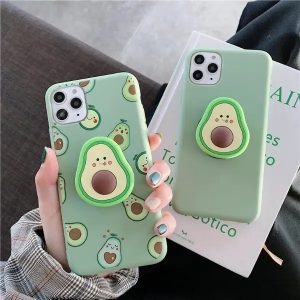 Cute Avocado iPhone Case - FinishifyStore