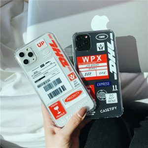 Dhl Label Clear iPhone 11 Pro Max Case - FinishifyStore