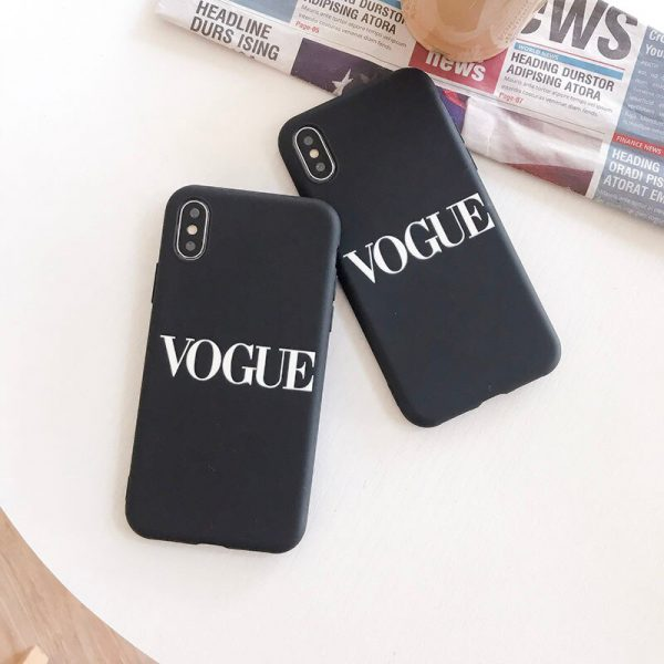 Vogue brand iPhone Case - FinishifyStore