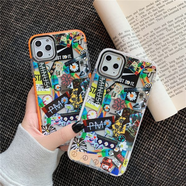 Fragment Stickers iPhone Case - FinishifyStore