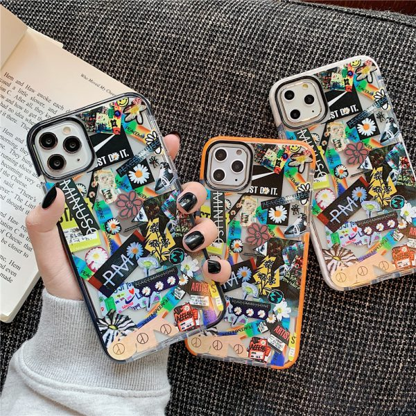 Fragment Stickers iPhone 11 Pro Max Case - FinishifyStore