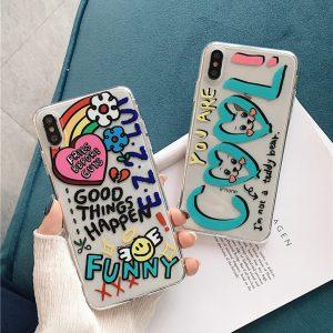 Graffiti Letter iPhone X Case - FinishifyStore