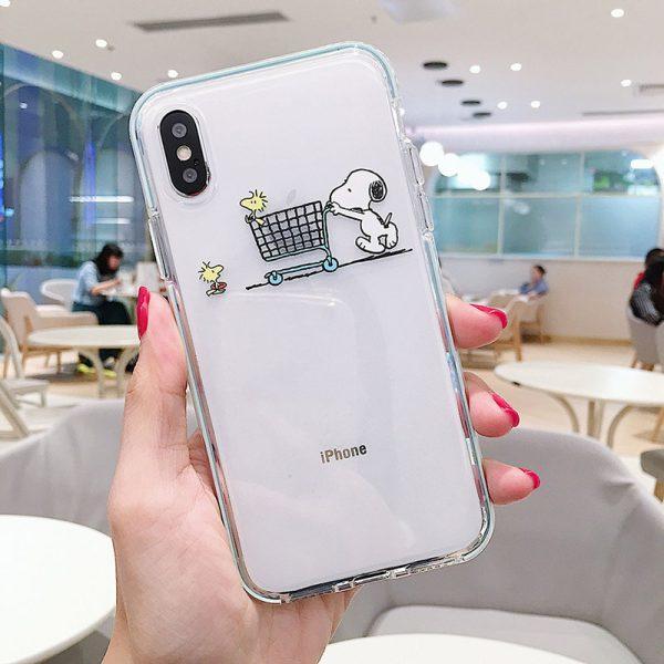 Snoopy Peanuts iPhone Xs Case - FinishifyStore