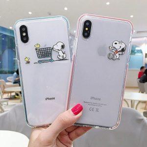 Snoopy Peanuts iPhone X Case - FinishifyStore