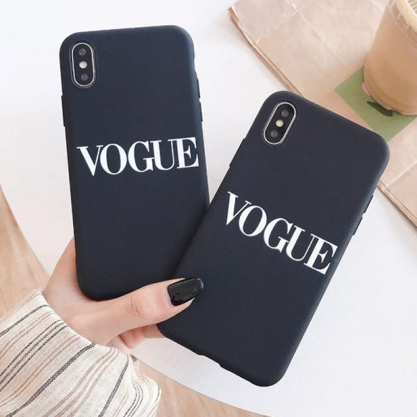 Vogue brand iPhone X Case - FinishifyStore
