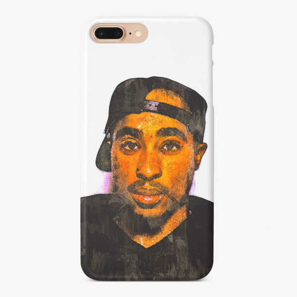 2pac art iPhone Case