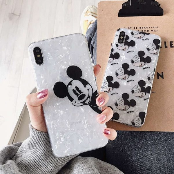 Opal Mickey Mouse iPhone X Case - FinishifyStore