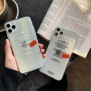 Letter Clear iPhone 11 Pro Max Case - FinishifyStore