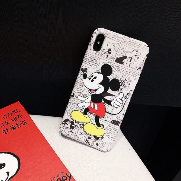 Mickey Mouse Comic iPhone Case - FinishifyStore