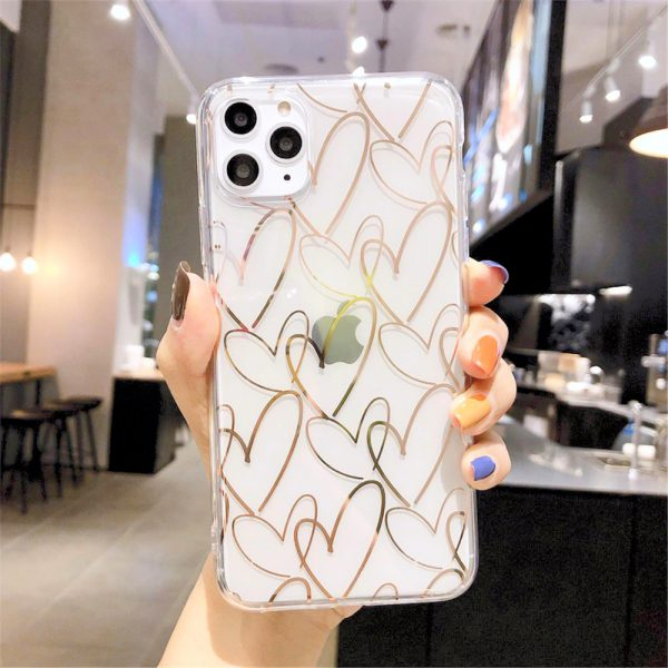 Starry Love Clear iPhone 11 Pro Max Case - FinishifyStore