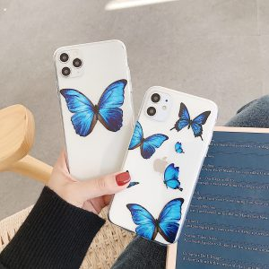 Blue Butterfly iPhone 12 Pro Max Case