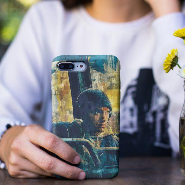 Eminem Rap Hip Hop Design iPhone Case