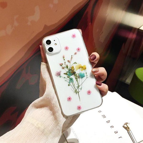 Real Dried flower iPhone Case - FinishifyStore