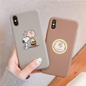 Cartoon Charlie Brown iPhone X Case