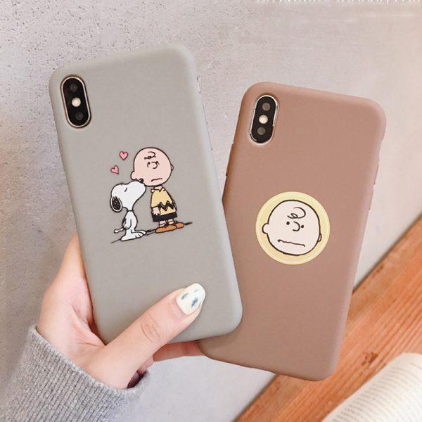 Cartoon Charlie Brown iPhone X Case