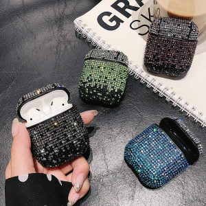 Crystal Diamonds AirPods Case
