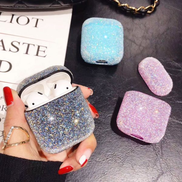 Cute Bling Diamonds Design AirPods Case