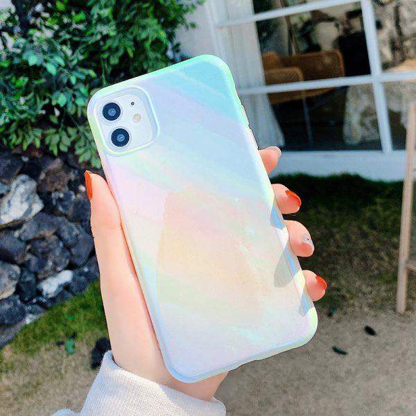 Holographic Matte iPhone Case - Finishifytore