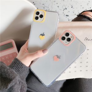Love Heart Clear iPhone 11 Pro Max Case - FinishifyStore