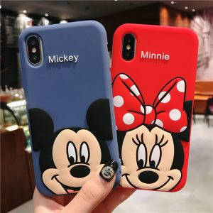 Mickey Mouse Red Blue iPhone X Case