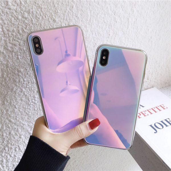 Nebula Holographic iPhone Case - FinishifyStore